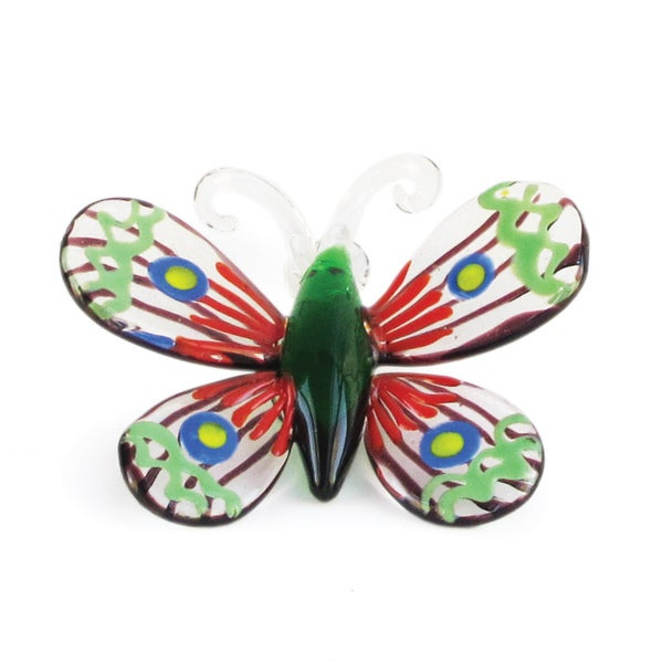 Fitz Floyd Luna Glass Butterfly Figurine