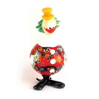 Fitz Floyd Zippy Glass Clown Figurine