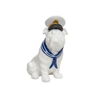 Resin Sailor Dog Bank