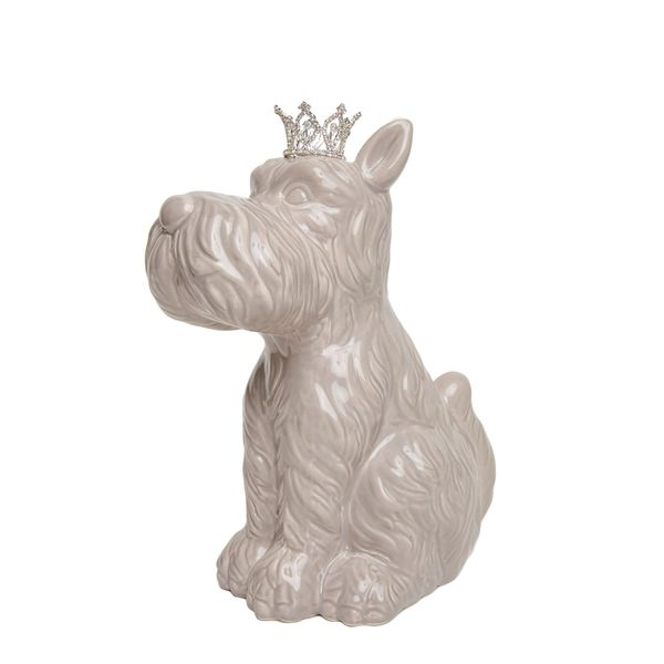 Scottie Dog with Crown Bank