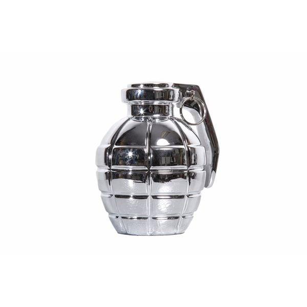 Silver Grenade Tabletop Decor