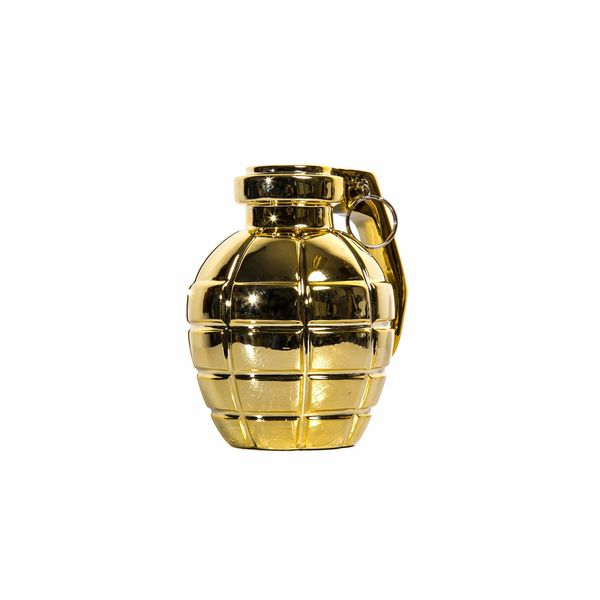Gold Grenade Tabletop Decor
