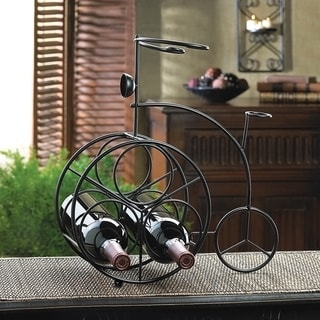 Iron Bicycle Wine Bottle Rack