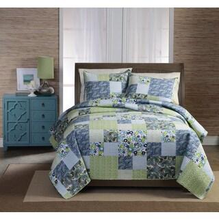 Haley Cotton 3-piece Quilt Set
