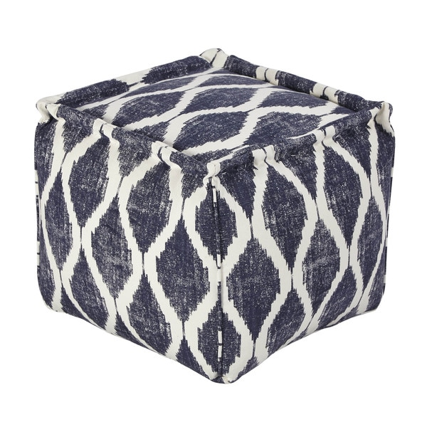 SB Signature Design by Ashley Bruce Ink/White Pouf