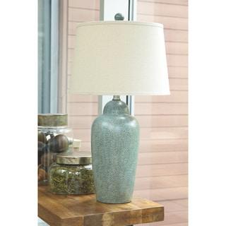 Saher Green 30 Inch Ceramic Table Lamp
