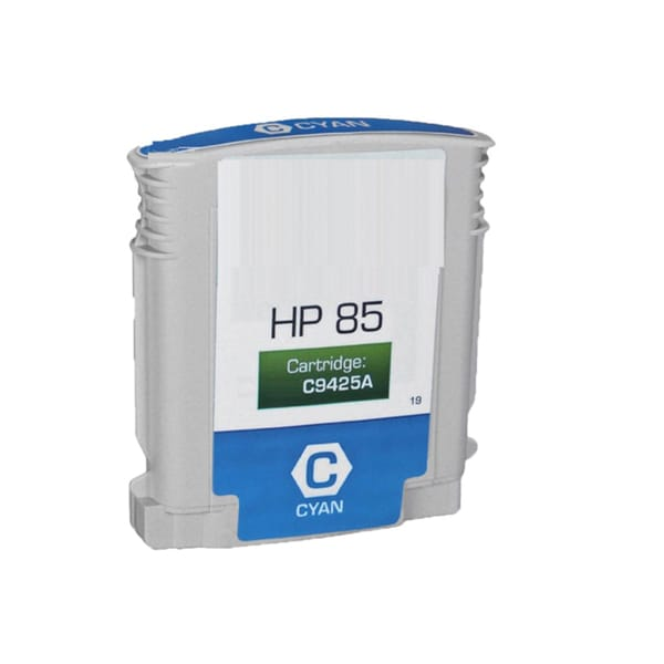 Compatible C9425A HP 85 Cyan Ink Cartridge For HP Designjet 30 130 series ( Pack of 1 )