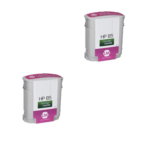 2PK Compatible C9426A HP 85 Magenta Ink Cartridge For HP Designjet 30 130 series ( Pack of 2 )