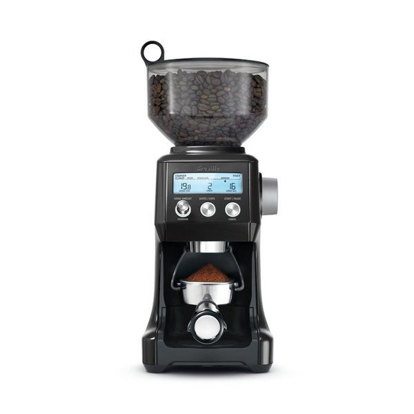 Breville BCG820BKSXL Sesame Black The Smart Grinder Pro Coffee Bean Grinder