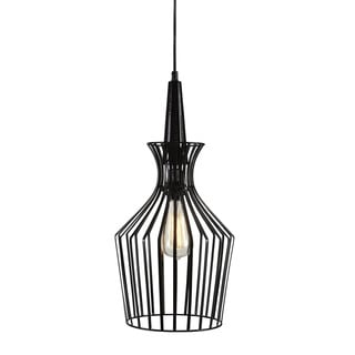Signature Design by Ashley Ichiro Black Metal Pendant Light