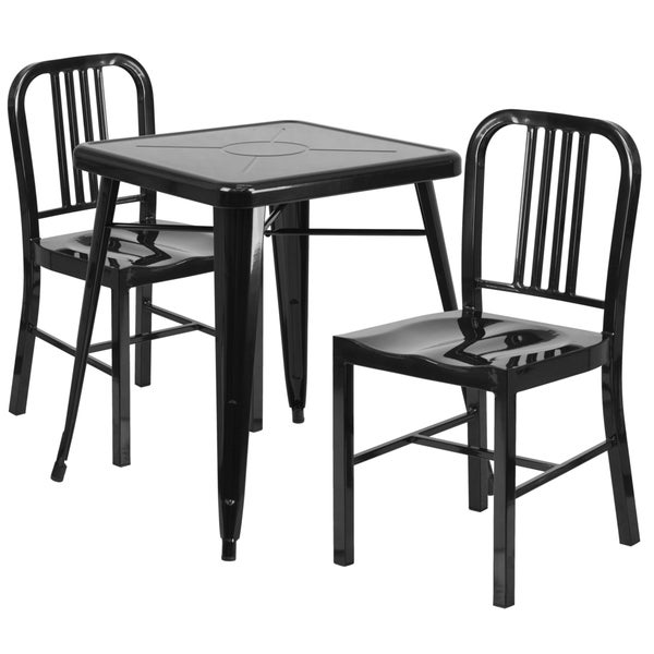 Metal Patio Table Set