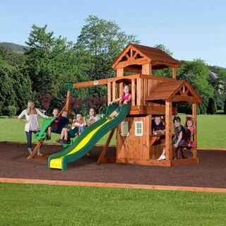 Backyard Discovery Tanglewood All Cedar Swingset