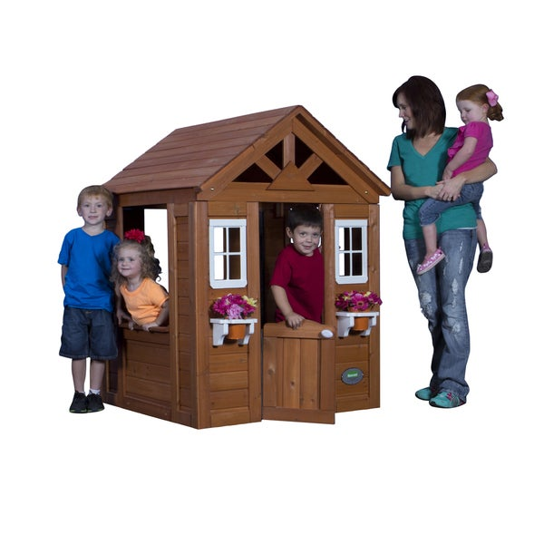 Backyard Discovery Timberlake All Cedar Playhouse