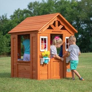 Backyard Discovery Timberlake All Cedar Playhouse