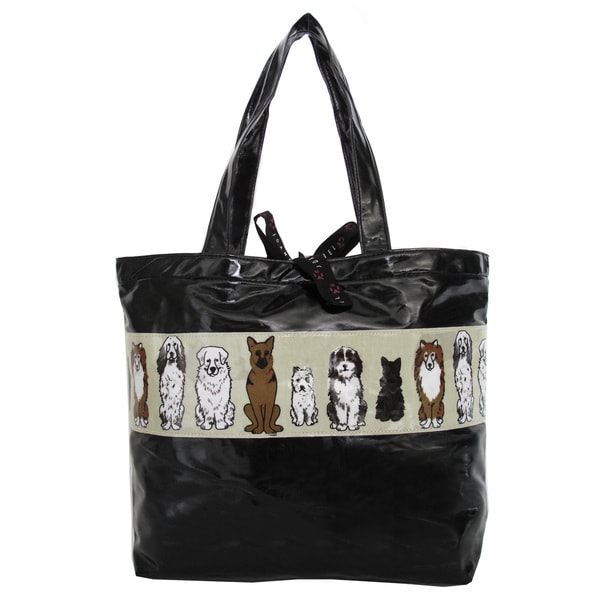 Joanel Dog Print Shopper Bag