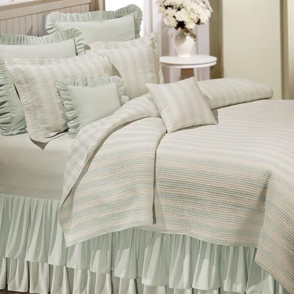 Amanda Green Cotton Reversible Quilt