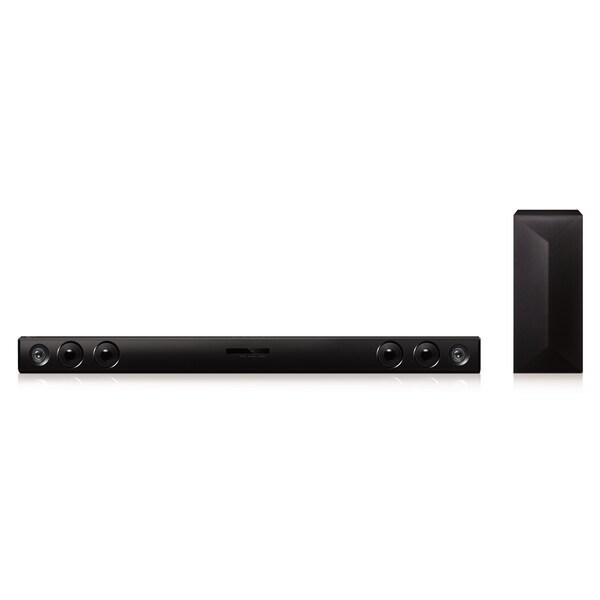 LG LAS454B 2.1-channel 300-watt Bluetooth Soundbar with Wireless Subwoofer