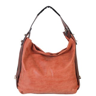 Rimen and Co. Faux Leather Short Hobo