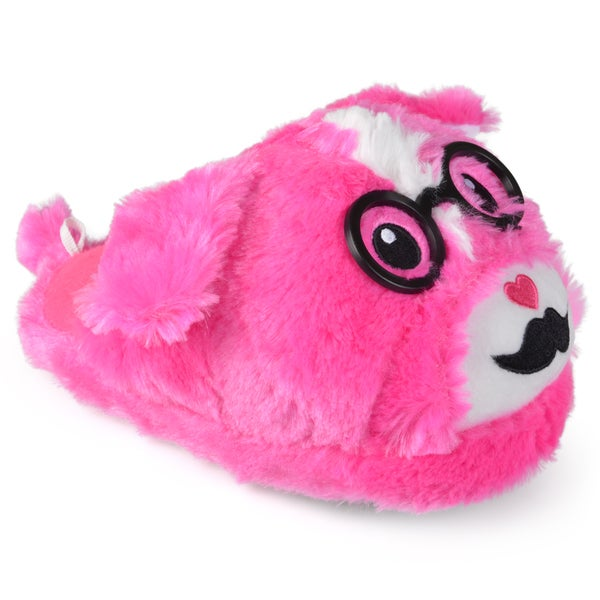 Journee Kid's Backless Animal Slippers