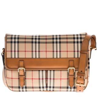 Burberry Horseferry Check Messenger Bag