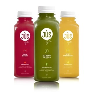 JUS by Julie Freshly Blended 5-day Juice Cleanse