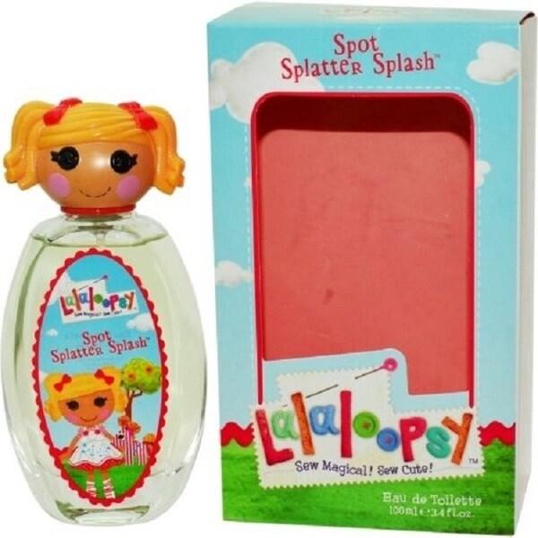 Lalaloopsy Spot Splatter Splash Women's 3.4-ounce Eau de Toilette Spray