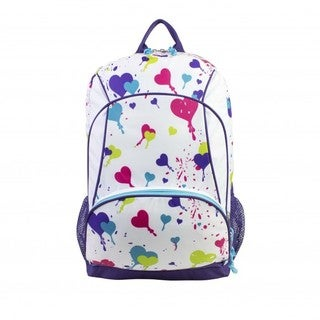 Eastsport Heart Print Extreme Backpack