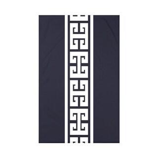 Key Stripe Print Throw Blanket