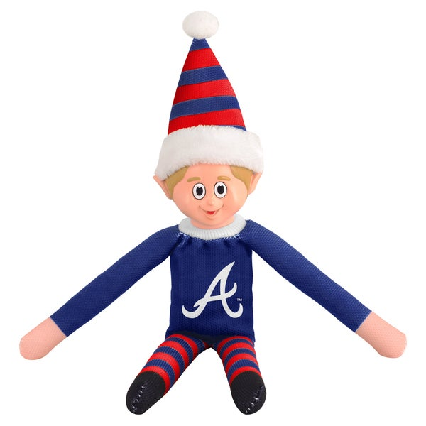 Forever Collectibles Atlanta Braves MLB 14-inch Team Elf