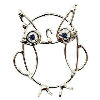 Detti Originals Wire Owl Pin