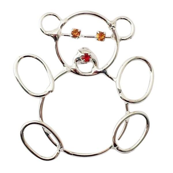 Detti Originals Wire Teddy Bear Pin 16603068