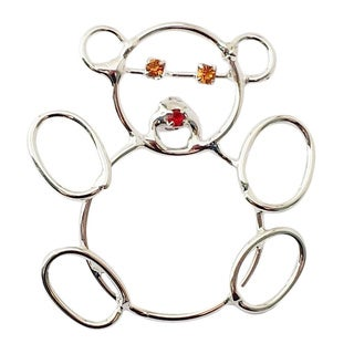 Detti Originals Wire Teddy Bear Pin