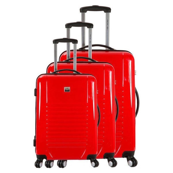 France Bag Tokyo 3-piece Hardside Spinner Luggage Set