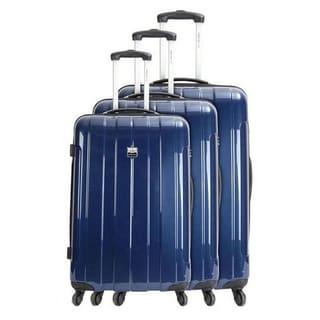 France Bag Cancun Metallic 3-piece Hardside Spinner Luggage Set