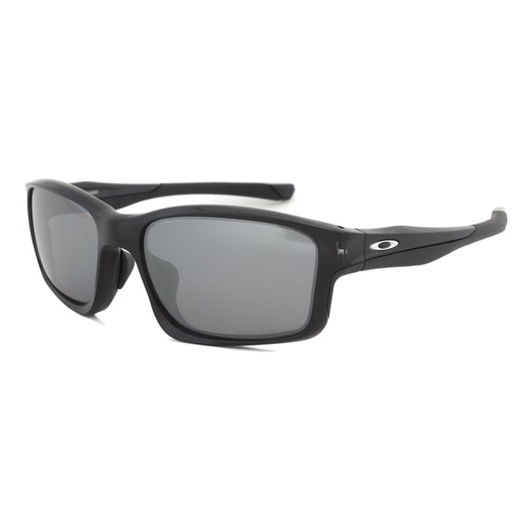 Oakley OO9252-07 Asian Fit Chainlink Black Frame Black Iridium Lens Polarized Sunglasses