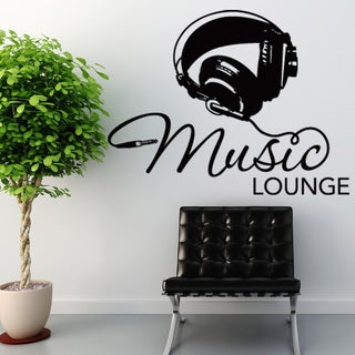 Music Lounge Vinyl Wall Art