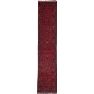 ecarpetgallery Fine Khal Mohammadi Red Wool Rug (2' x 12')