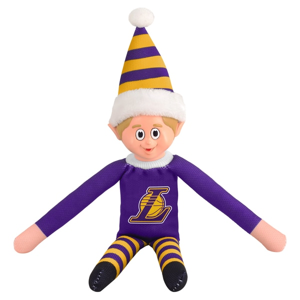 Forever Collectibles Los Angeles Lakers NBA 14-inch Team Elf 16604133