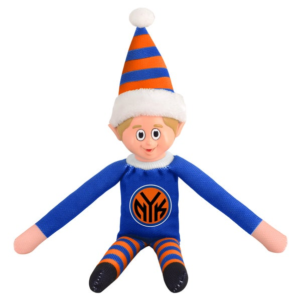 Forever Collectibles New York Knicks NBA 14-inch Team Elf 16604134