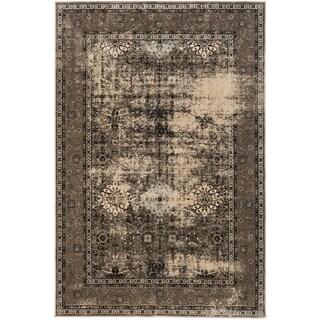 ecarpetgallery Frost Beige Rug (7' x 10')