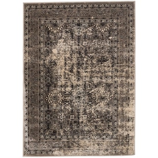ecarpetgallery Hand-knotted Frost Beige Rug (3' x 5')