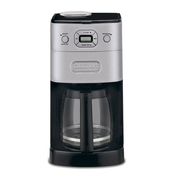 Cuisinart DGB-625BC Brushed Metal Grind-and-Brew 12-cup Automatic Coffee Maker 5692798