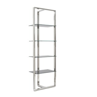 Sienna Grey Glass Panel Shelving