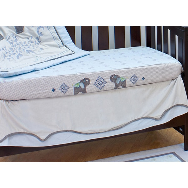 Nurture Elephant Jubilee Decorator Fitted Crib Sheet