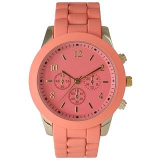 Olivia Pratt Women's Ceramic Colorful Dial Watch