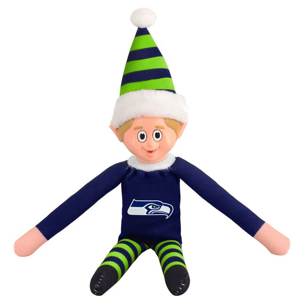Forever Collectibles Seattle Seahawks NFL 14-inch Team Elf