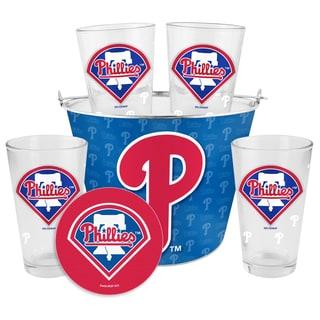 Philadelphia Phillies Glass Bucket and Pint Gift Set