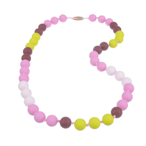 Jelly Strands Lizzie Baby Teething Necklace