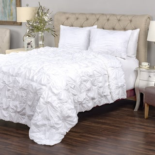 Sweet Dreams White Collection 3-piece Quilt Set by Arden Loft