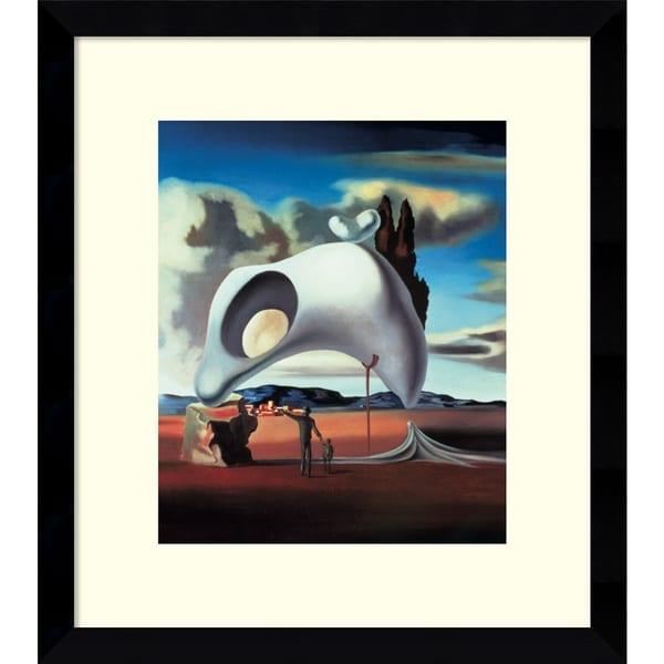 Salvador Dali 'Atavistic Vestiges After the Rain, 1934' Framed Art Print 13x15-in